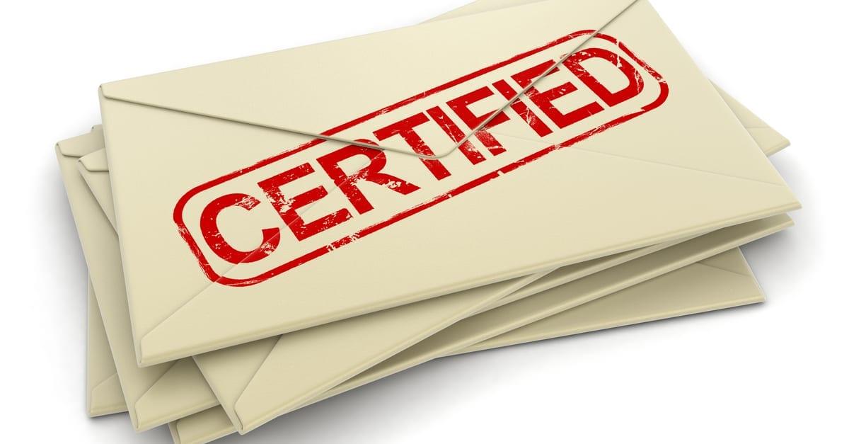formal notice attorney compensation