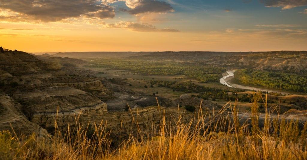 partition North Dakota