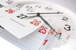deadlines timelines Ohio probate