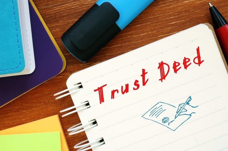 California trust deed