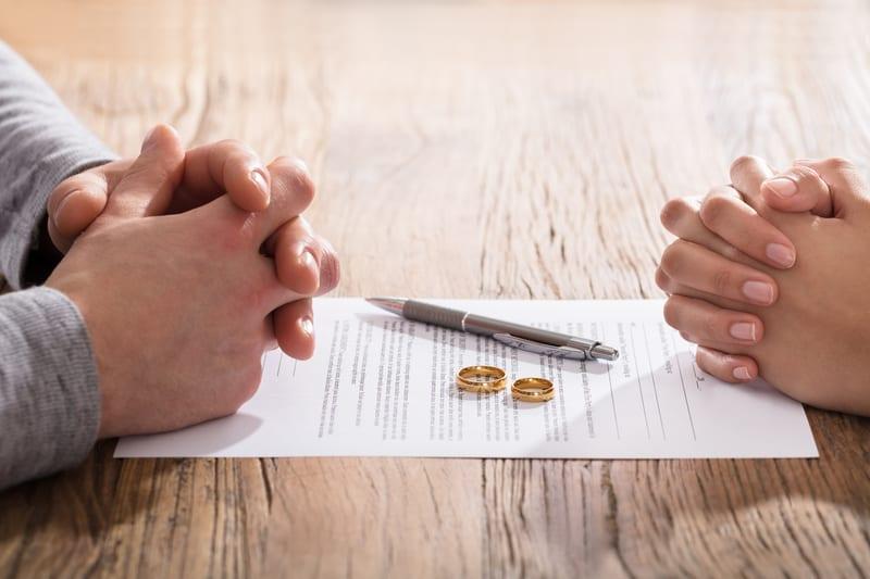 marital agreement death